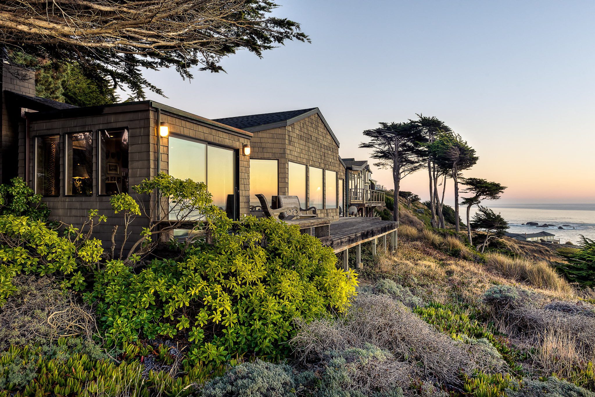waves end real estate photography of gualala oceanfront home sea ranch images